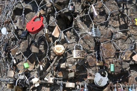 padlock for love