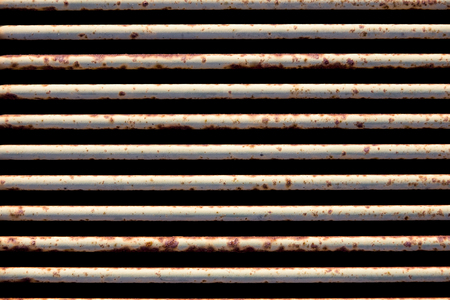metal gate: rusty and scratched metal gate background