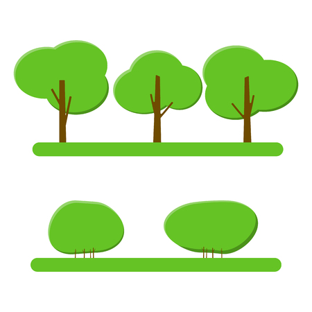 Cool illustration of a trees