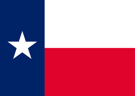 Texas official flag.