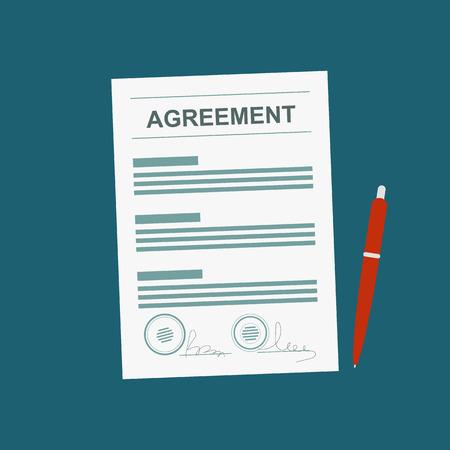 accounts payable: Agreement