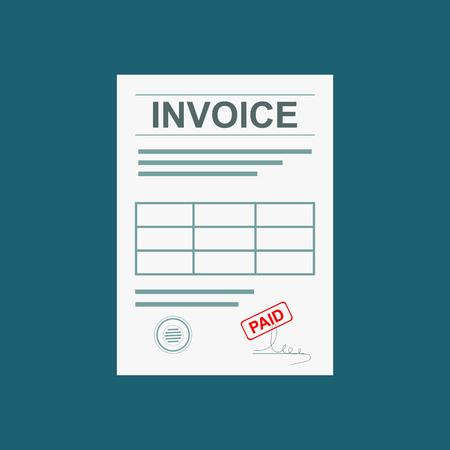 accounts payable: Invoice illustration