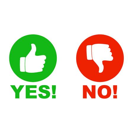 Ja en geen handteken