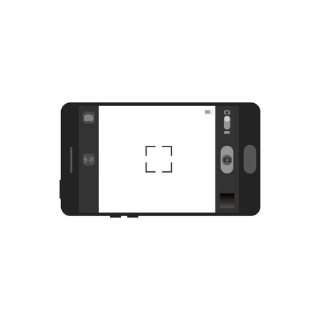 touch screen interface: Mobile photo camera