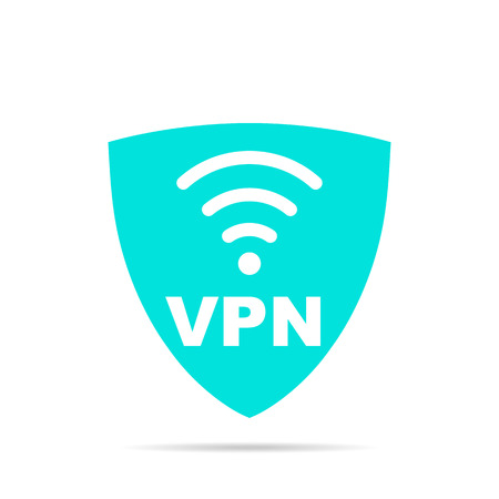 vpn Stock Illustratie