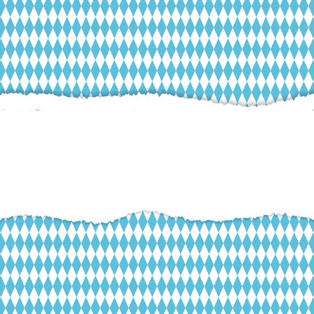 October fest background. White stripe. Vector illustration