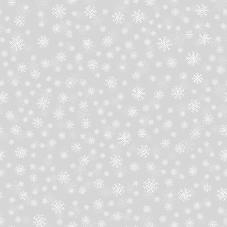 Falling snow background. Winter Christmas and New Year Illustration