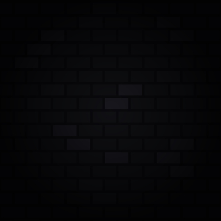 Dark brick wall background. Black and grey color