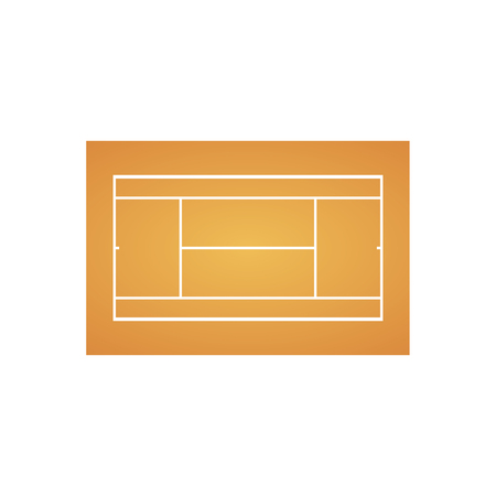 Tennis court background. Sport concept. Vector eps10