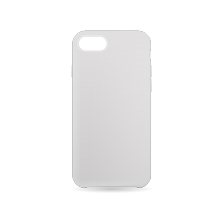 Phone case with shadow on white back