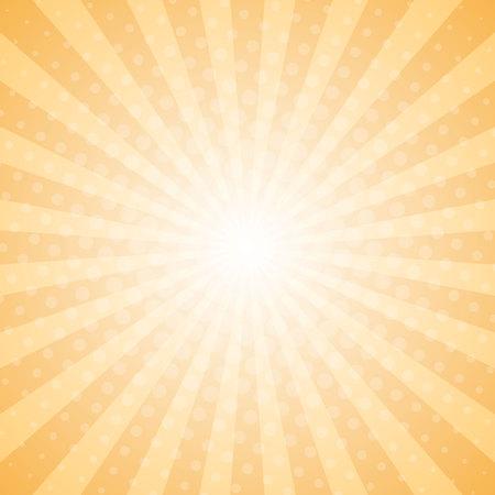 Abstract light rays halftone background. Vector eps10 Standard-Bild - 124254669