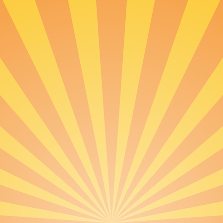 Abstract light orange rays background. Vector eps10 Standard-Bild - 124254675