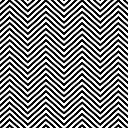 Zigzag pattern seamless background. Vector eps10 illustration Standard-Bild - 124254685