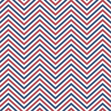 Zigzag pattern seamless background. Vector eps10 illustration Standard-Bild - 124254686
