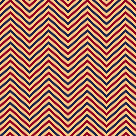 Zigzag pattern seamless background. Vector eps10 illustration Standard-Bild - 124254687
