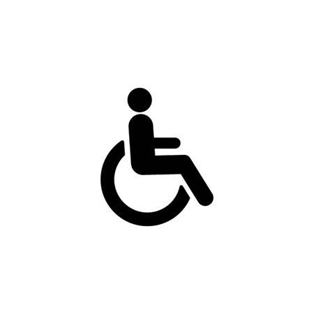 Disabled icon symbol simple design