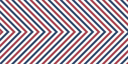 Line chevron pattern background red and blue colors Illustration