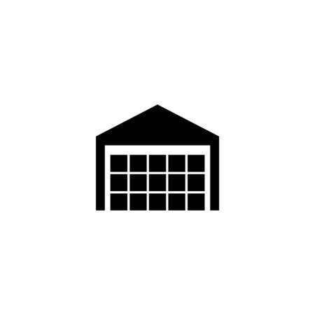 Warehouse icon symbol simple design. Vector eps10 Ilustração