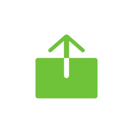 Share screen icon simple design. Ilustração