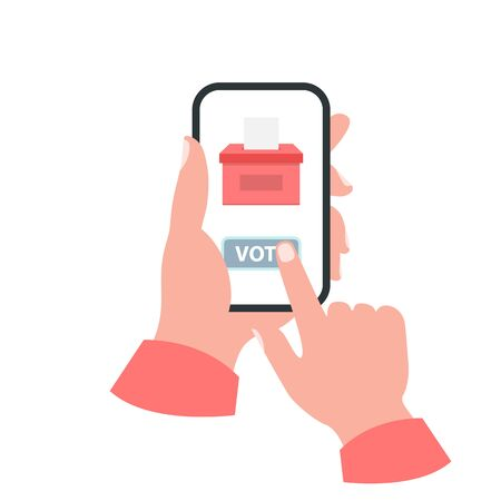 Smartphone your hand concept. Vote Imagens - 145341517