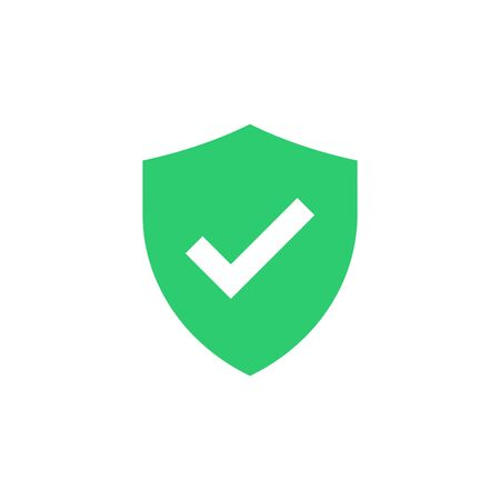 Shield with check mark icon