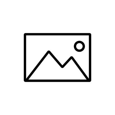 Picture icon symbol simple design. Vector