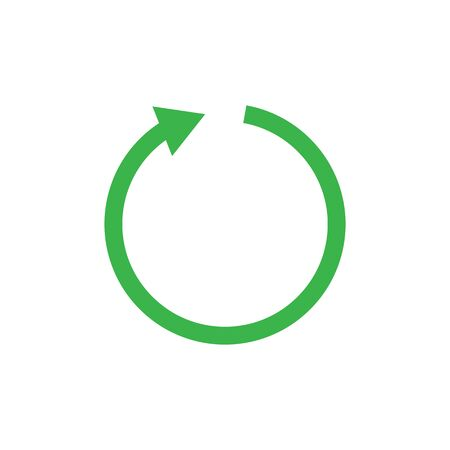 Recycle icon symbol simple design
