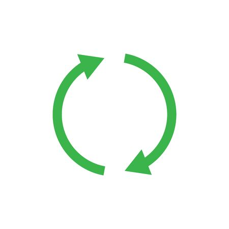 Recycle icon symbol simple design Imagens - 147974776