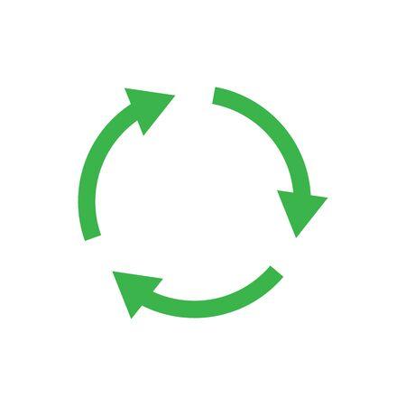 Recycle icon symbol simple design Imagens - 147974795