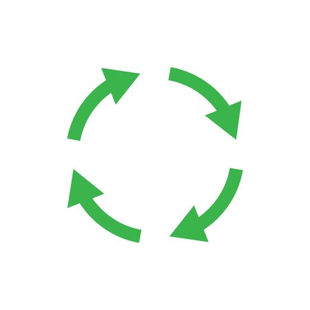Recycle icon symbol simple design Archivio Fotografico - 147975245