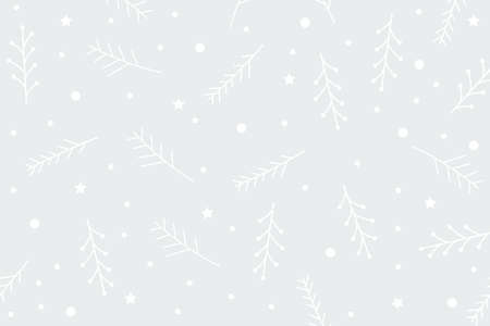 Christmas pattern background pastel colors