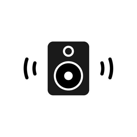 simple Audio speaker icon design