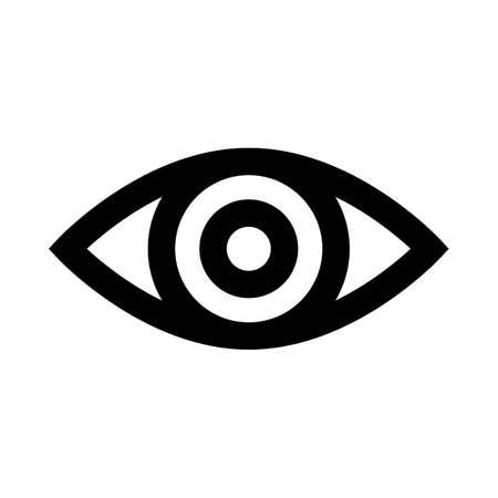 Eye icon symbol icon simple design