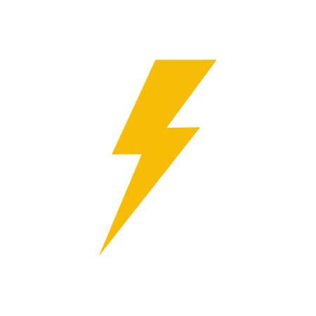 Flash icon symbol simple design