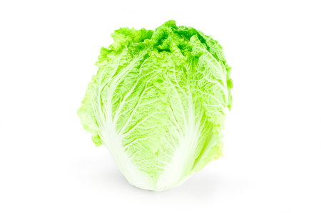Chinese cabbage isolated on white background cutout