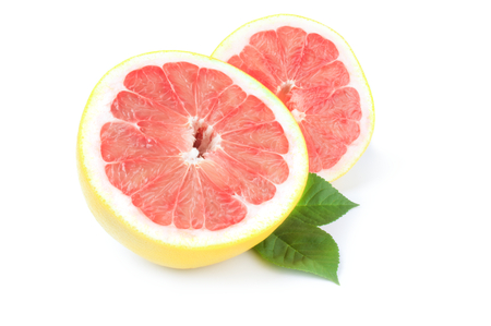 Grapefruit isolated on a white background cutout