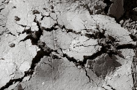Damaged cracked asphalt pattern texture.