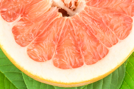 Pomelo isolated on a white background cutout