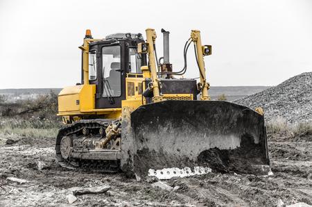 Bulldozer at work.