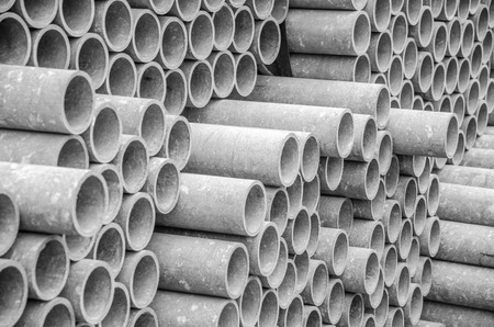 asbestos pipes for water draining. Texture for background.