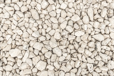 Close up of gray gravel as background