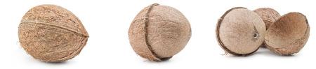 Set of coconut