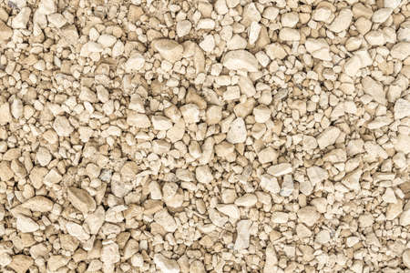 Abstract background of gravel, pebbles, shingle. Neutral colors. Black and white. Reklamní fotografie - 163296474
