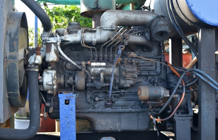inoperative: close up the old engine outdated