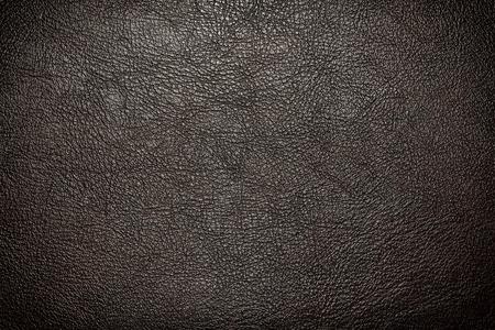 black leather texture: Black leather texture or background Stock Photo