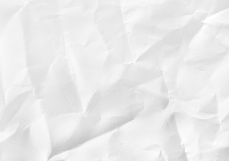 torn edge: crumpled white paper texture for background