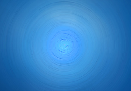 circulate: blue circulate radian effect and water drop background