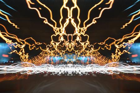lighting effect: the art of lighting effect long exposure