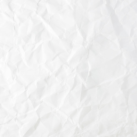 crinkled: White crumpled paper for background image