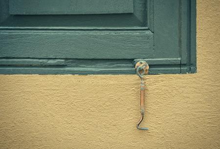 gaff: Door and window hook